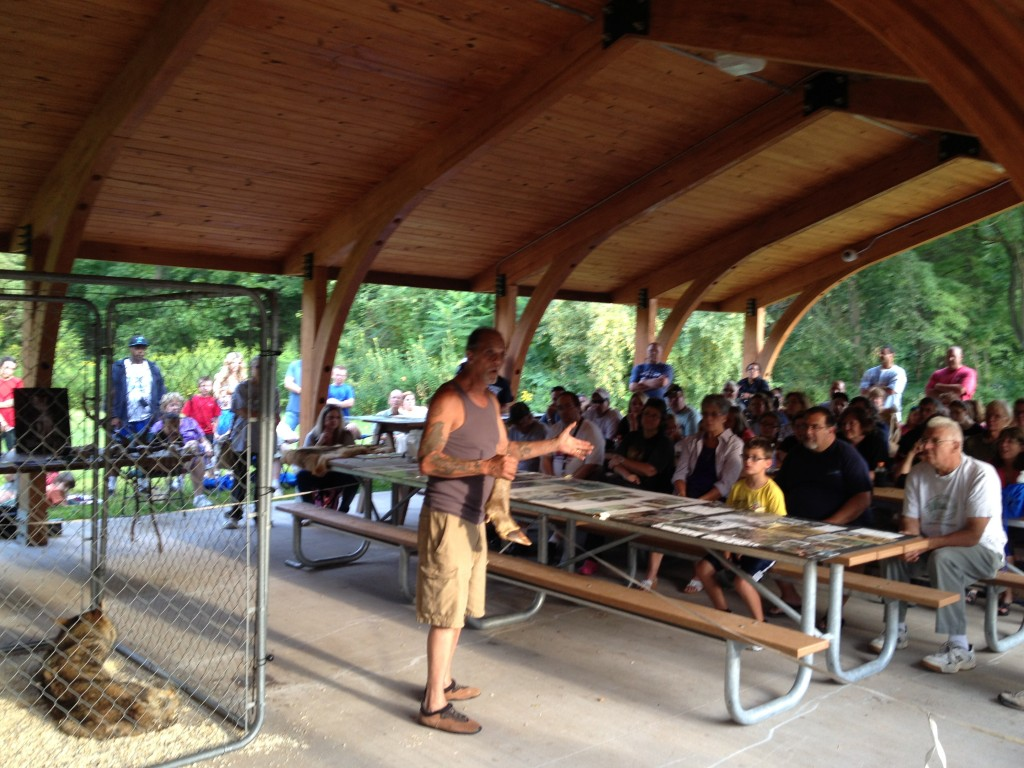 Mike LeBlanc talks about wolves