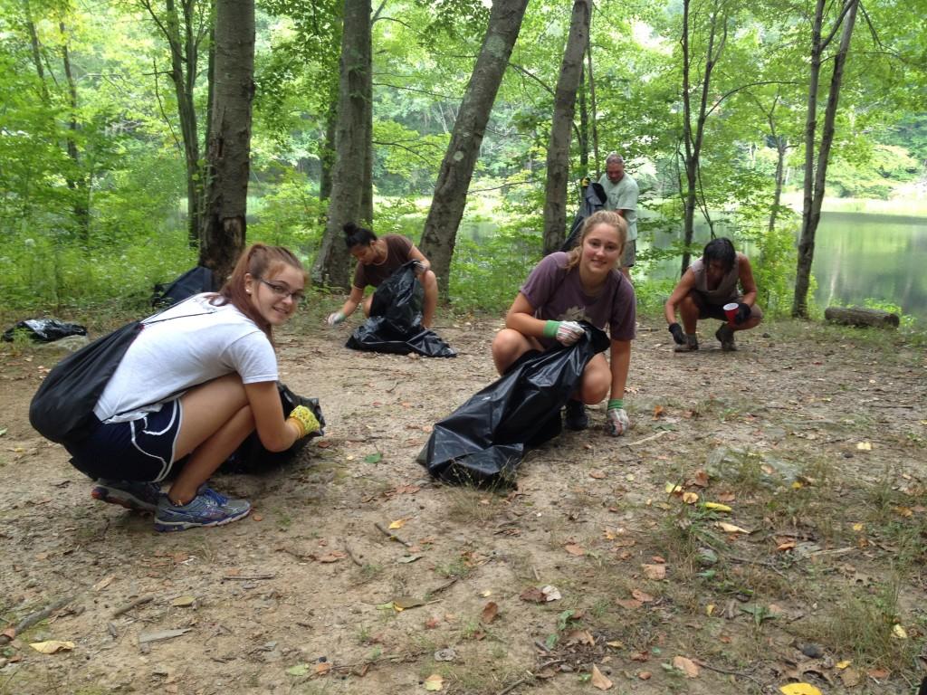 Mica Ledges Clean Up